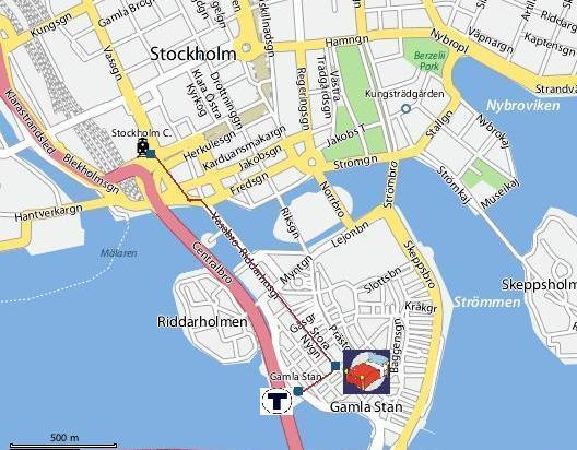 Map to archipelago hostel